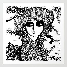 The Corn Poppy  Art Print