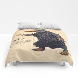 Niffler art Fantastic Beasts Comforters