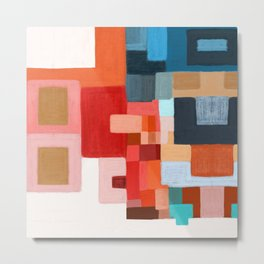 studio 5 abstract contemporary Metal Print