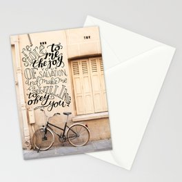 The Joy of Your Salvation  |  Psalm 51:12 Stationery Cards