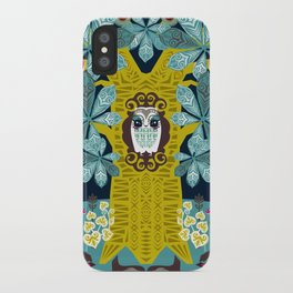The Horse Chestnut {Night} iPhone Case