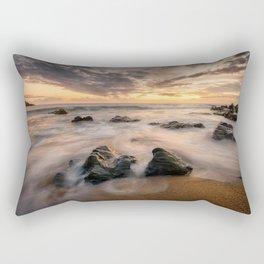Kinnagoe Bay   Ireland  (RR80) Rectangular Pillow