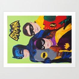 Bat Trio 66 Art Print