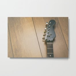 Electric guitar neck Metal Print