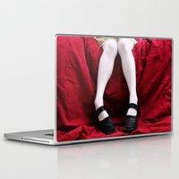 legs Laptop & iPad Skins featuring Legs by Vasina Reginiano