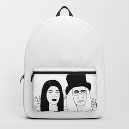 Two Weirdos in a Pod Backpack
