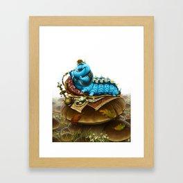 The Caterpillar Framed Art Print