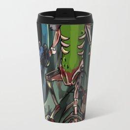 Army of One Pickle Rick T-Shirt Travel Mug