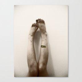 Zombie Legs Canvas Print