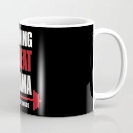Training to beat saitama Coffee Mug