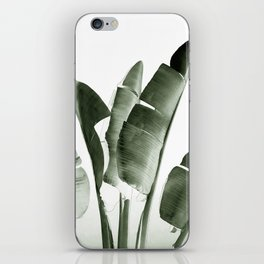 Traveler palm iPhone Skin