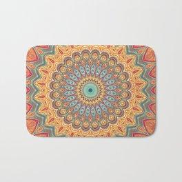 Jewel Mandala - Mandala Art Bath Mat