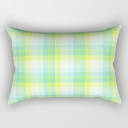 Summer Plaid 8 Rectangular Pillow