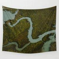 alaska Wall Tapestries featuring Alaska Streams by Andy Barron