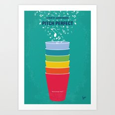 No660 My Pitch Perfect minimal movie poster Art Print