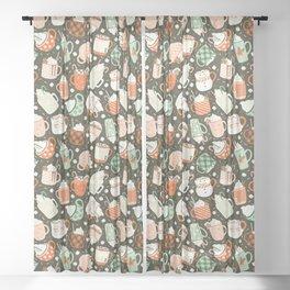 Christmas Cocoa Sheer Curtain