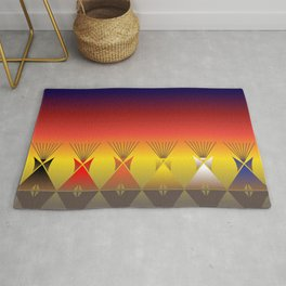 Night Tipi Rug