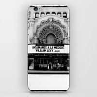 theater iPhone & iPod Skins featuring Theater by Yancey Wells