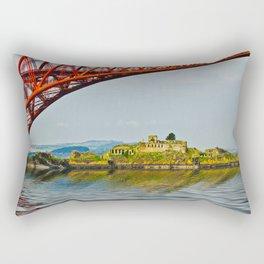 Inchgarvie Island Rectangular Pillow