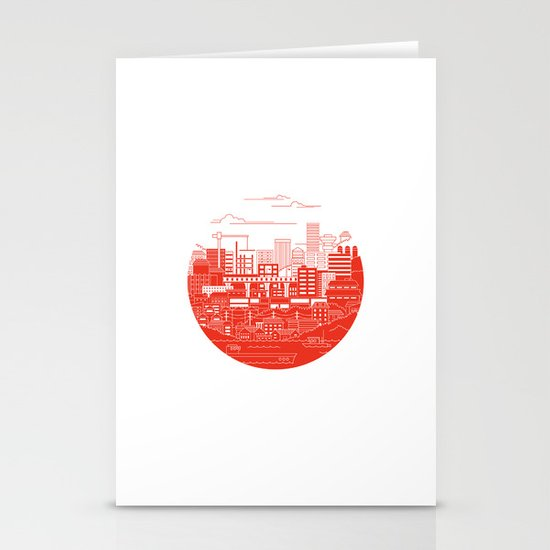 Rebuild Japan Stationery Cards