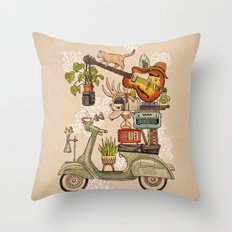 Pleasant Balance II Throw Pillow
