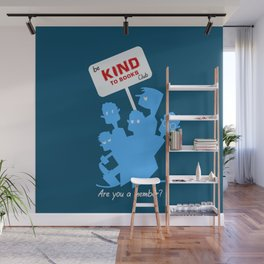 Be kind to books club Wall Mural
