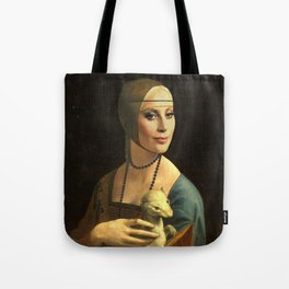My lady with an ermine Tote Bag