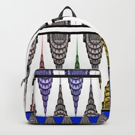 Chrysler Building Shower Curtain Backpack