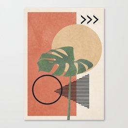 Nature Geometry I Canvas Print