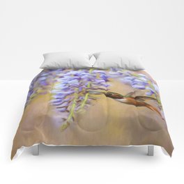 Wisteria Elegance Comforters