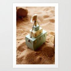 Little Boat Art Print