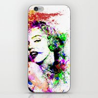 marylin monroe iPhone & iPod Skins featuring Monroe. by David
