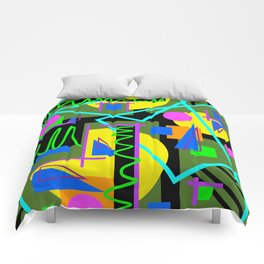 Playful Chaos Comforters