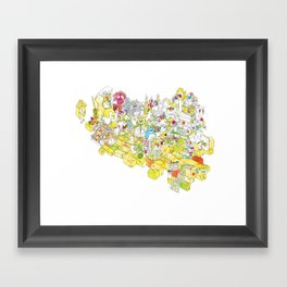 Get Crafty! Framed Art Print