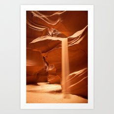 Sands of Time, Upper Antelope Canyon, Page, Arizona Art Print