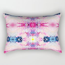Heydey (Abstract Painting) Rectangular Pillow