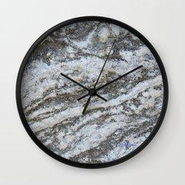TEXTURES -- Riverstone #1 Wall Clock