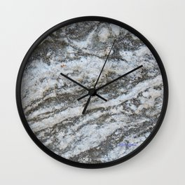 TEXTURES -- Riverstone #1 Wall Clock