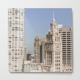 In Chicago Metal Print