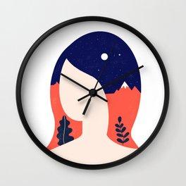 Girl World Wall Clock