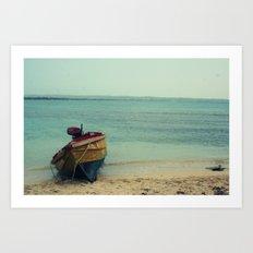 The Island Off The Island Art Print