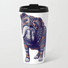English Bulldog (Color Version) Travel Mug