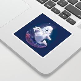 Beluga Whale Blow Kiss Sticker