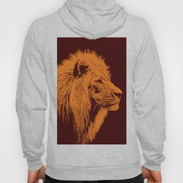 Lion, King of Nature Hoody