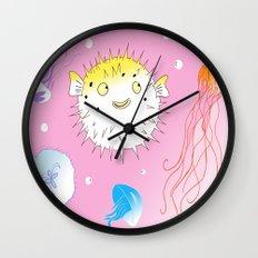 Little Fugu Wall Clock