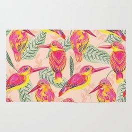 PINK BIRDS Rug