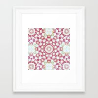 pomegranate Framed Art Prints featuring Pomegranate by Truly Juel
