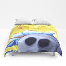 lucky stone Comforters