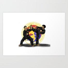hapkido Art Print