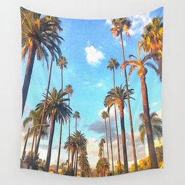 L.A. Morning Wall Tapestry